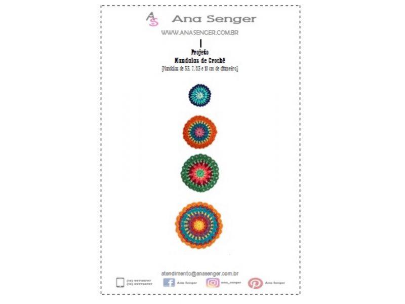 Projeto Mandalas de Crochê