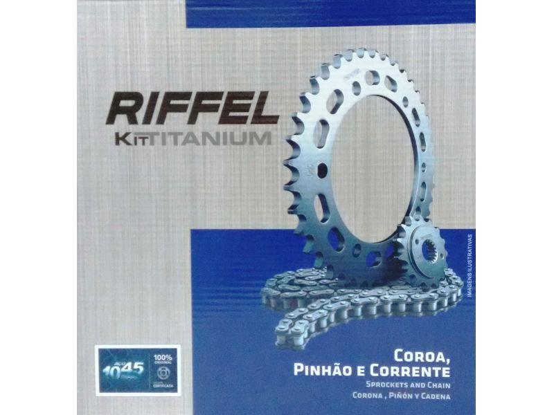 Kit Relação Transmissão Yes Katana Intruder 125 Riffel  71780