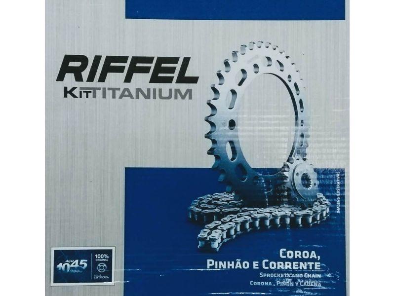 Kit Relação Cg 125 2000 A 2008 Novo Riffel Sem Oring 71790
