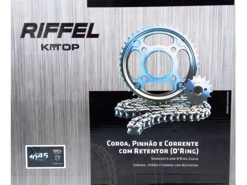 Kit relação  CB 300 COM RETENTOR RIFFEL   todos anos 91110