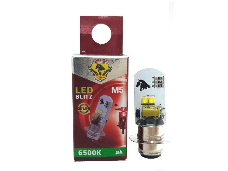 LÂMPADA LED  MOTO  BIZ 100 / 110 / 125 -  BROS 125 / 150 Até 2012