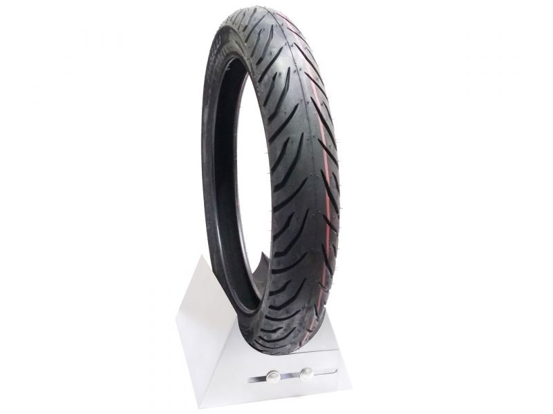 PNEU TRASEIRO CG 125 150 160 KS ES YBR 125 YES MAX 100 90 18 SUPER CITY NOVO PIRELLI