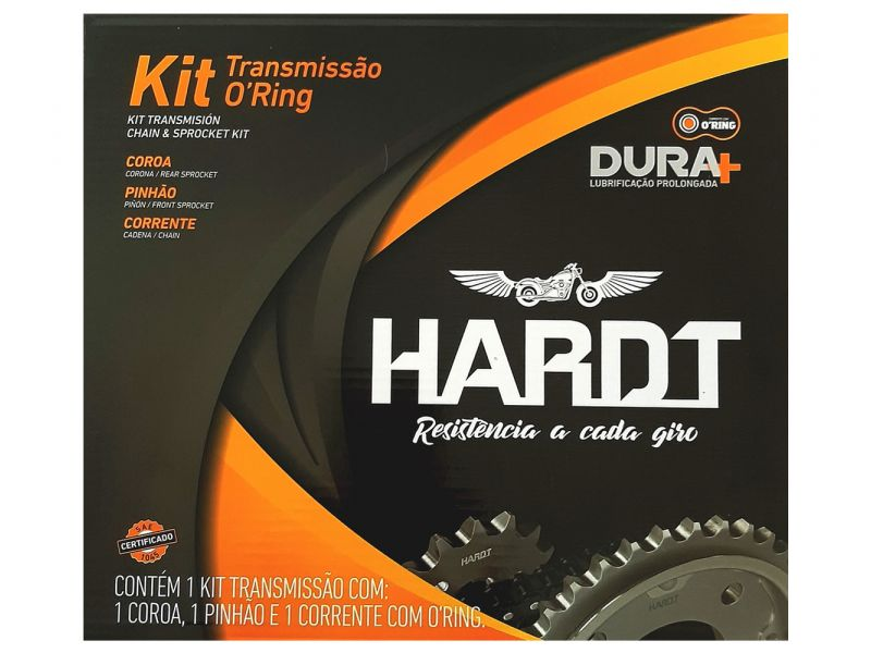 Kit Relacao Ybr 125 Com Retentor Todos Anos - HARDT 55540