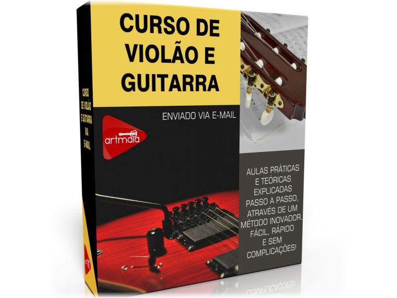 CURSO DE VIOLÃO E GUITARRA - Via E-mail