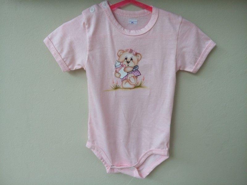 Body para Bebê - Tamanho M (6 a 9 meses)