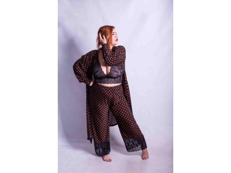 Pijama de Calça e Cropped