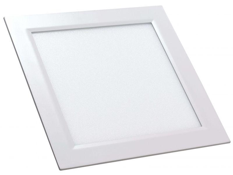 Painel LED de embutir 12W | 3000K | Amarelo
