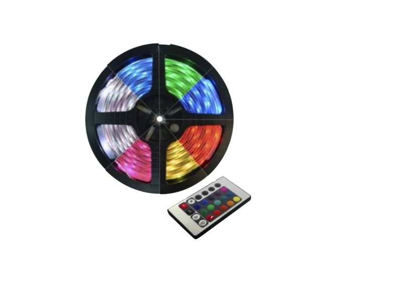 Fita LED RGB 5050 com Controle