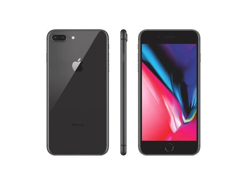 iPhone 8 Plus 64GB Cinza Tela 5.5