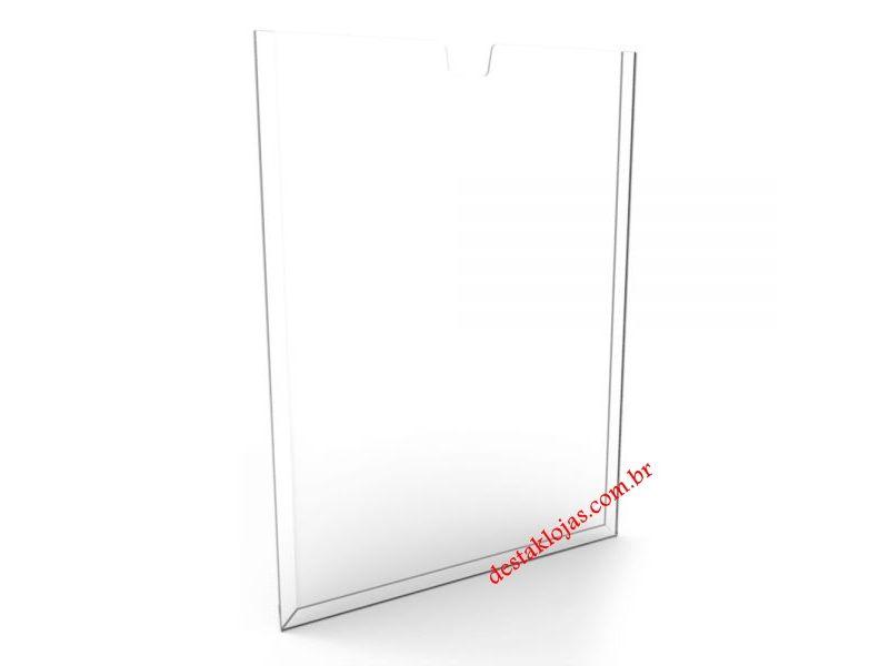 Display Acrilico Porta Folha Parede A 4