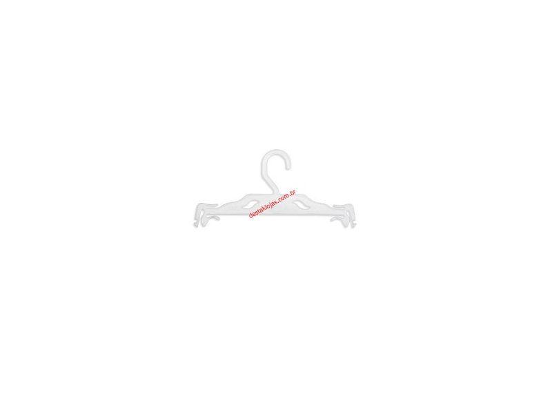 Kit c/ 12 cabides lingerie Transparente