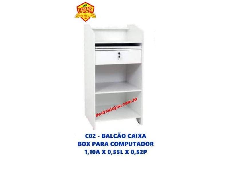 C02 Balcão caixa box para computador 1,10A X 0,55L X 0,52P