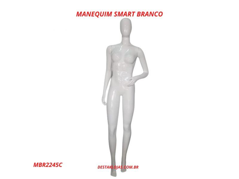 MANEQUIM FEMININO SMART BRANCO MBR2245C