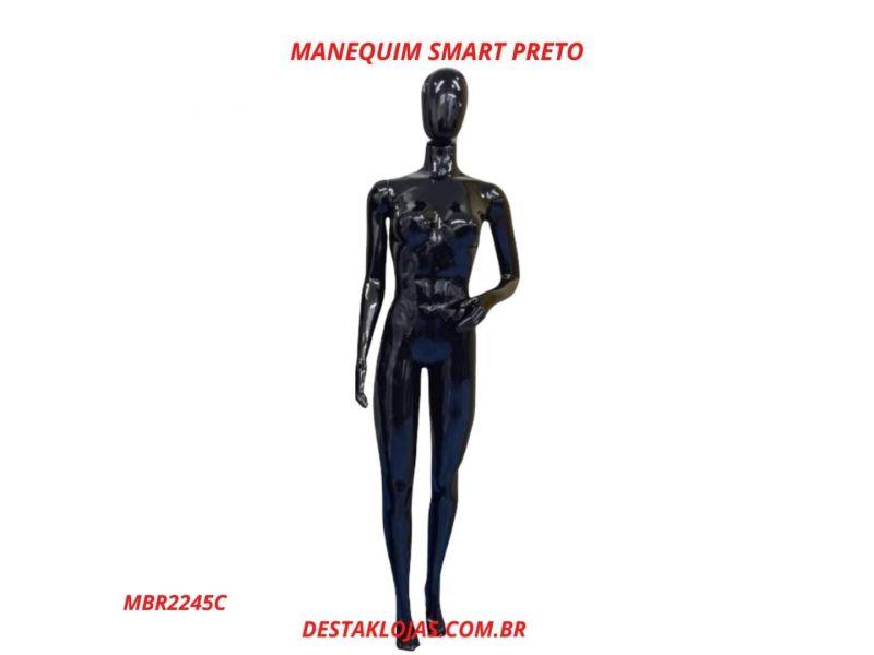 MANEQUIM FEMININO SMART PRETO MBR2245C
