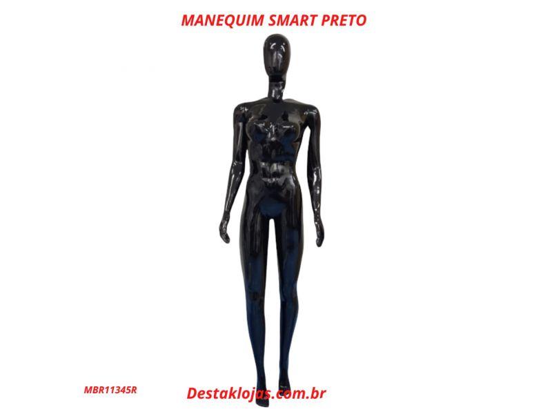 MANEQUIM FEMININO SMART PRETO MBR11345R