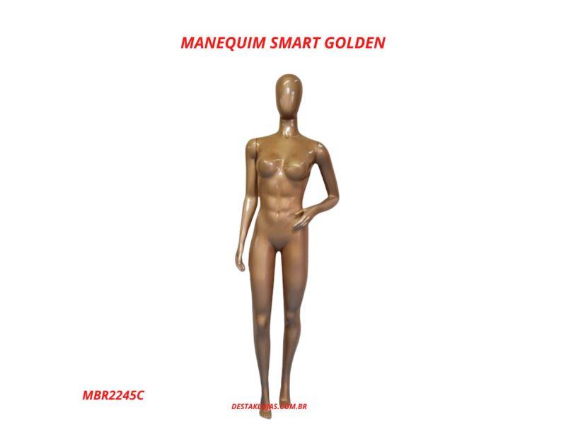 MANEQUIM FEMININO SMART GOLDEN MBR2245C