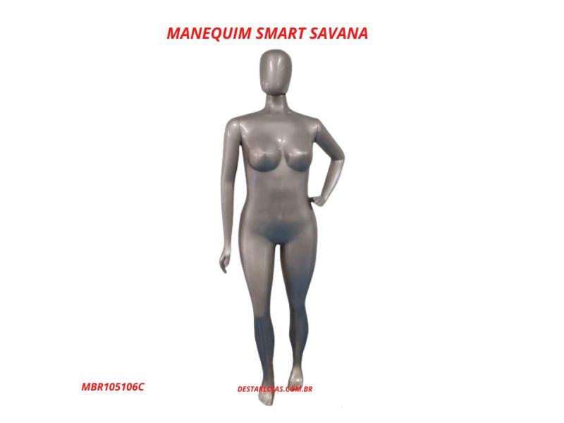 MANEQUIM FEMININO SMART SAVANA MBR105106C