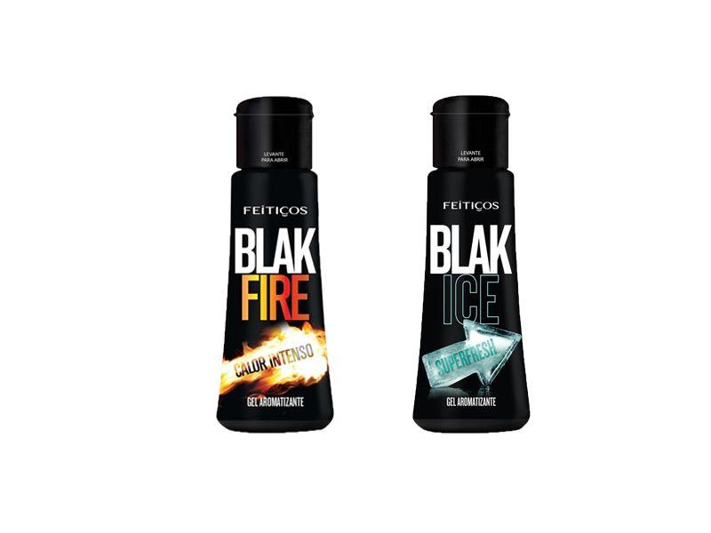 BLAK GEL COMESTÍVEL FIRE E ICE - 40 ML - FEITIÇOS