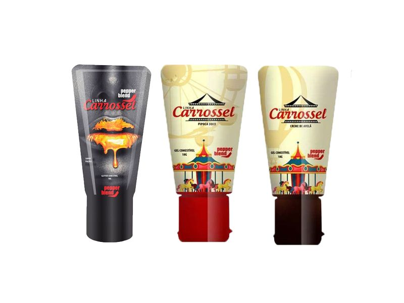 CARROSSEL GEL COMESTÍVEL 18 GR - PEPPER BLEND