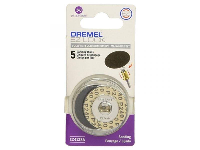 Disco de Lixa Grão 240 EZ Lock 1.1/4 Pol (31,7mm) Dremel EZ413 SA