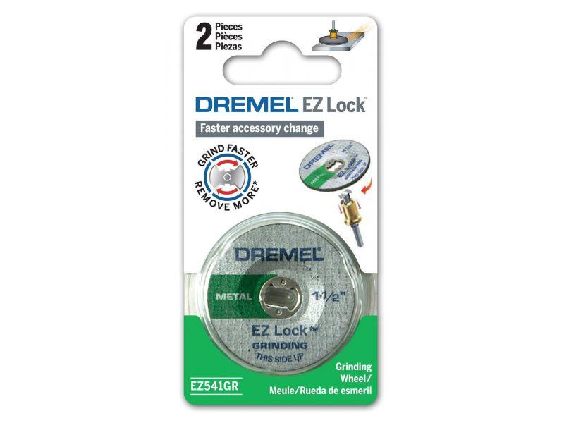 Disco Desbaste 1.1/2 Pol. (38mm) com 2 Unidades EZ Lock Dremel EZ541 GR