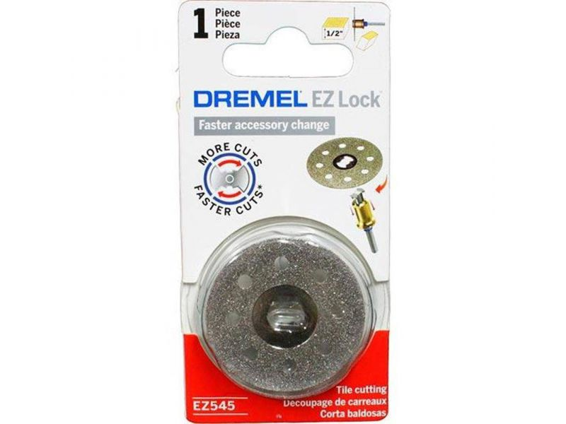 Disco Diamantado 1.1/2 (38,1mm) EZ Lock Dremel EZ545