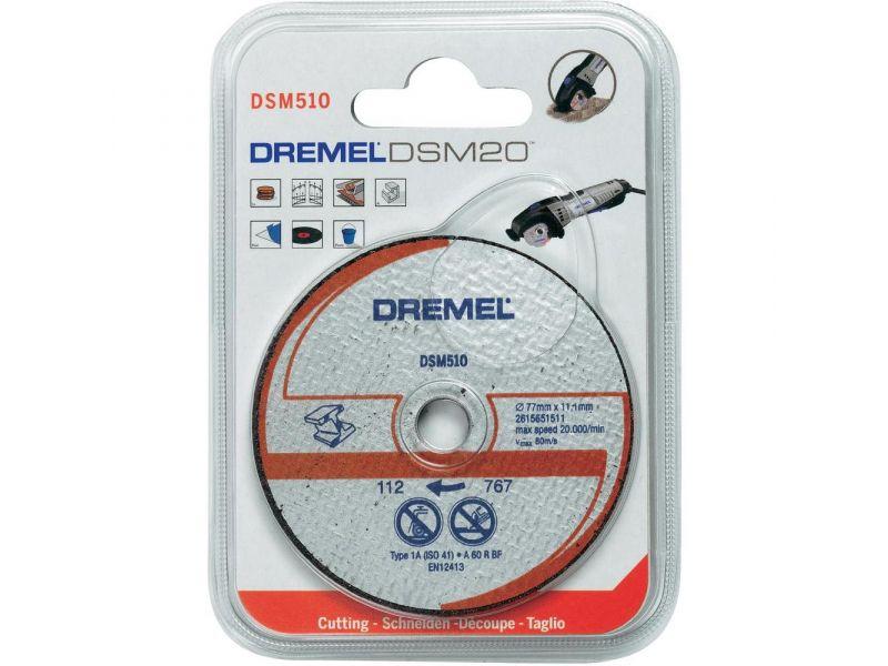 Disco de corte p/ Metal e Plastico Saw Max Dremel DSM510C-RW