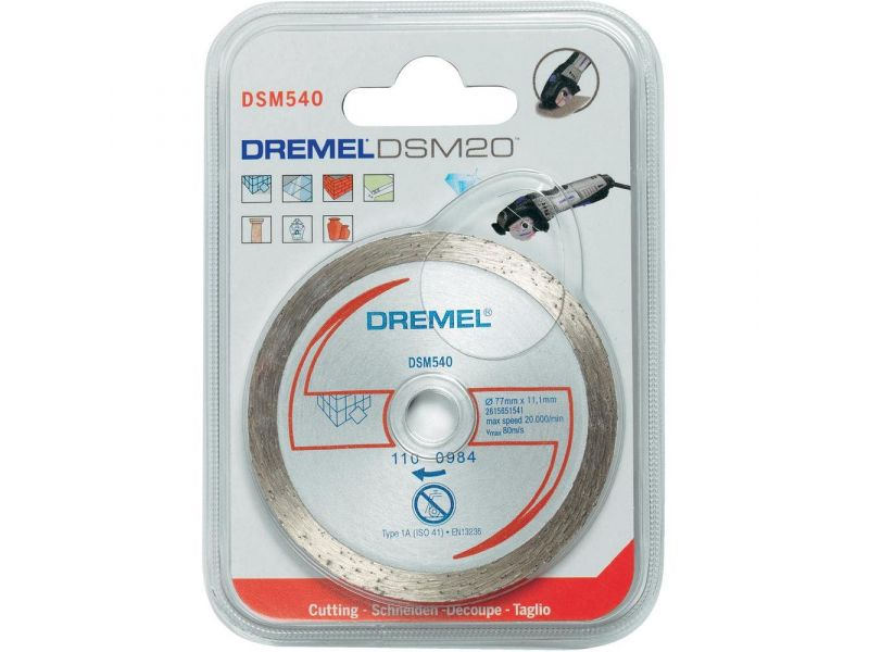 Disco Diamantado p/ Azulejos Saw Max Dremel  DSM540-RW
