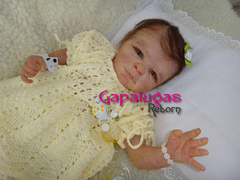 Bebê Reborn Thaís -  Kit Tayla