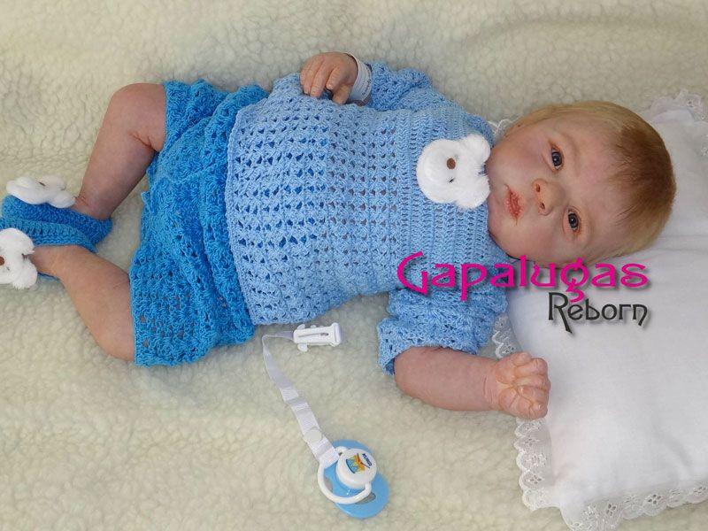 Bebê Reborn Charles - kit Gabriel