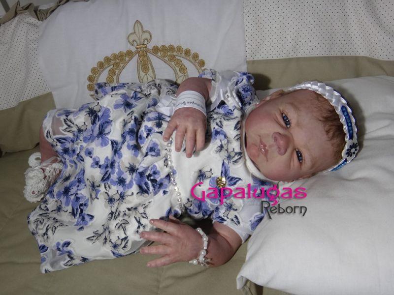 Bebê Reborn Joana - Kit Paisley