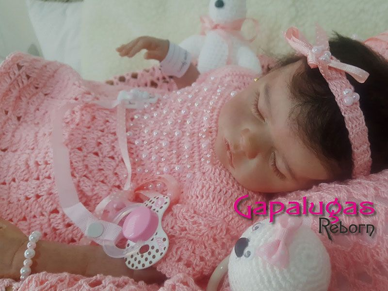 Bebê Reborn Franciele - Kit Twin B