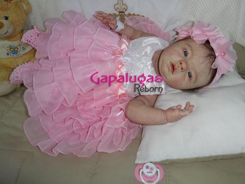 Bebê Reborn Marisa - Kit Lovelyn Acordado by Ping Lau