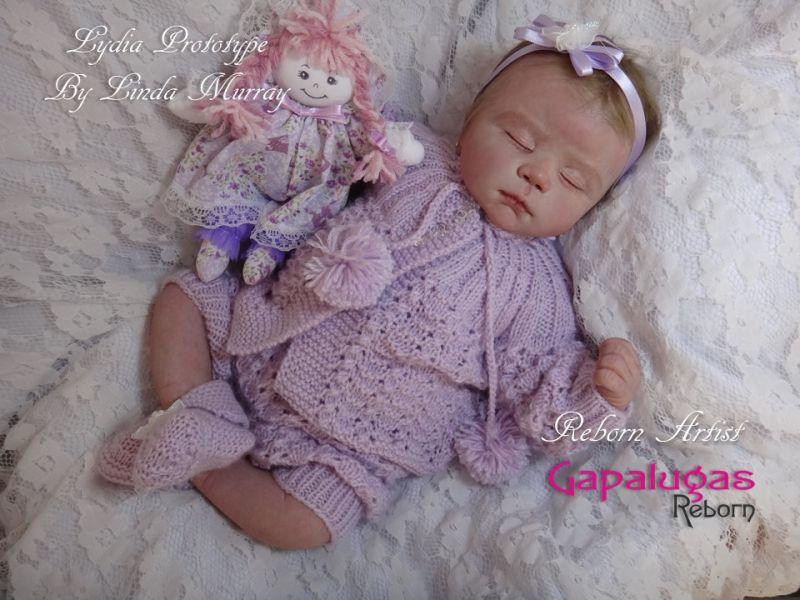 Bebê Reborn July - Kit Lydia