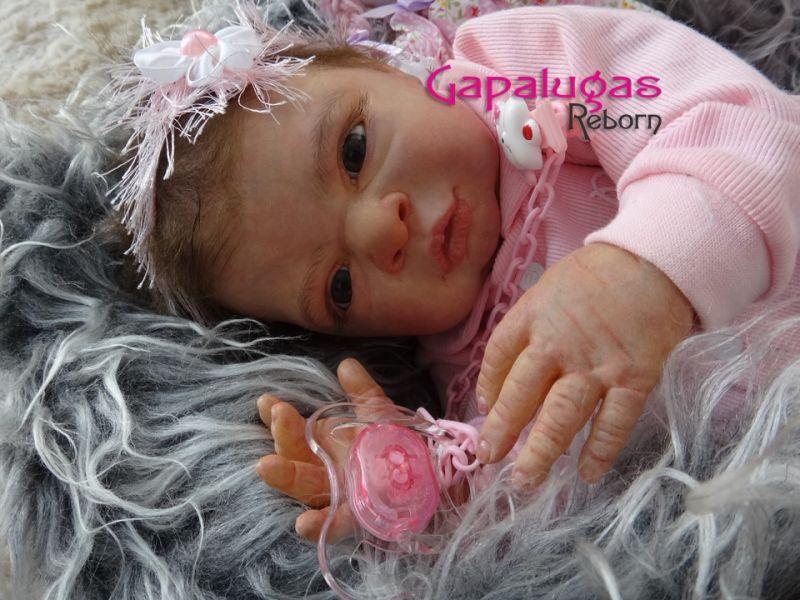 Bebê Reborn Natália - Kit Frankie