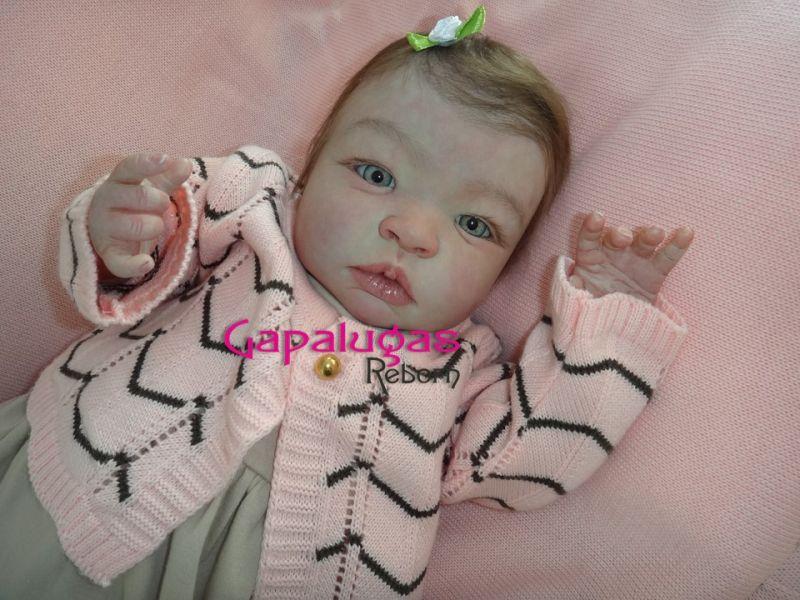 Bebê Reborn Anne - kit Shyann - categoria A4 - tamanho 47 cm