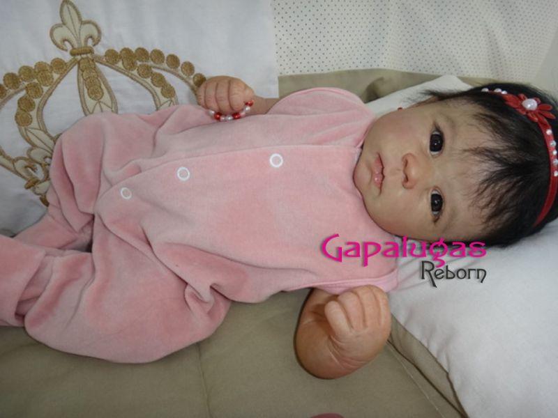 Bebê Reborn Catarina - kit Catrin