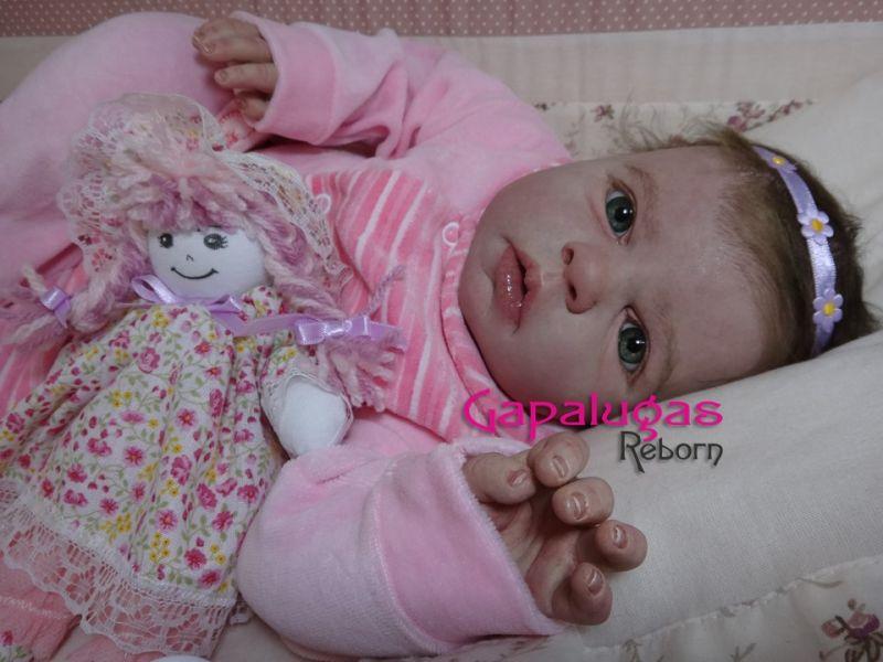 Bebê Reborn Aylla - kit Noah