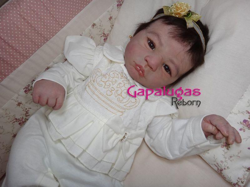 Bebê Reborn Marina - kit Lilebror