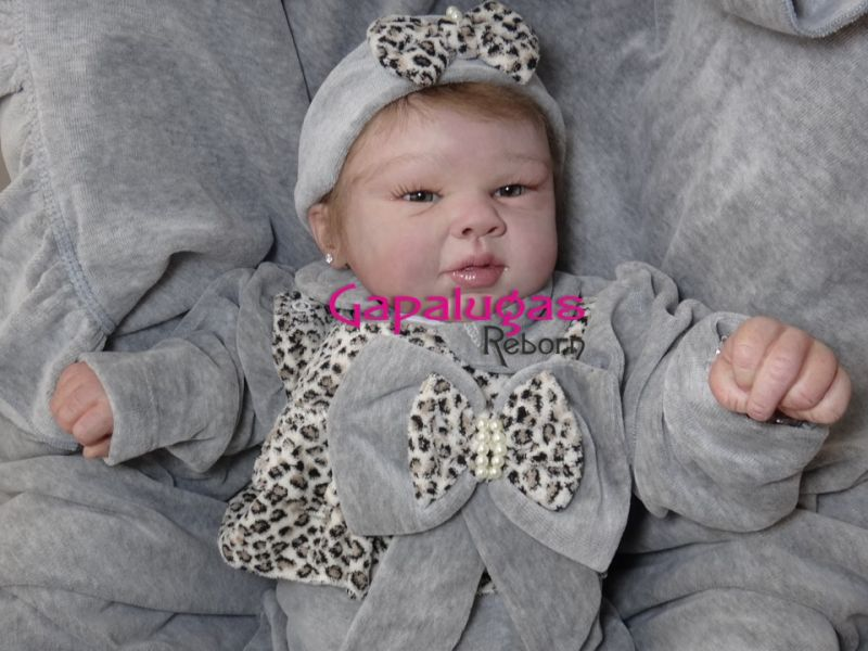 Bebê Reborn Rina - kit Rina