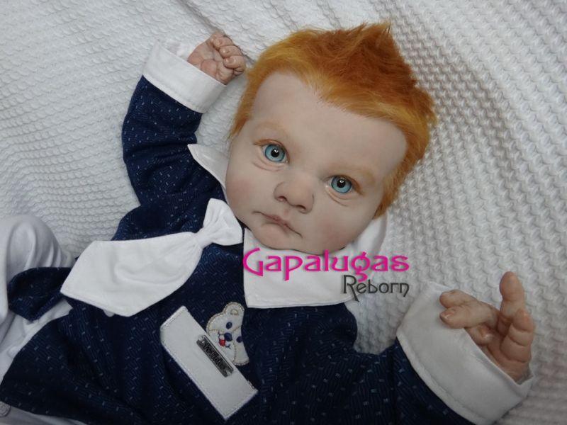 Bebê Reborn Dominick - kit Asher