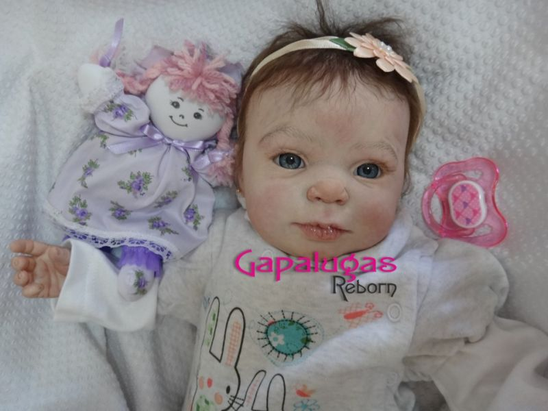 Bebê Reborn Angel - kit Blazer