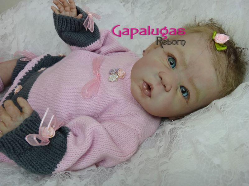 Bebê Reborn Lavínia - kit Anna