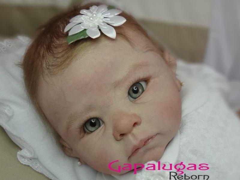 Bebê Reborn Helena - kit Andi Awaked