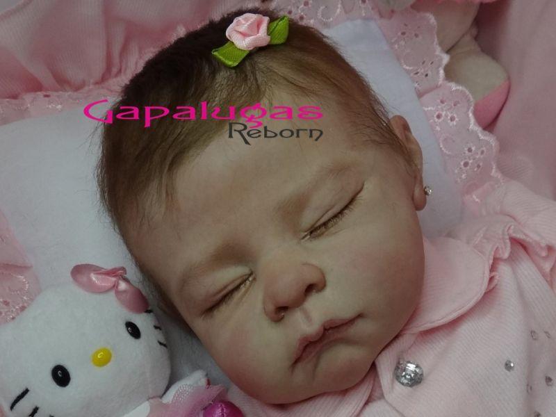 Bebê Reborn Kit Andi Asleep - Seu nome Andi