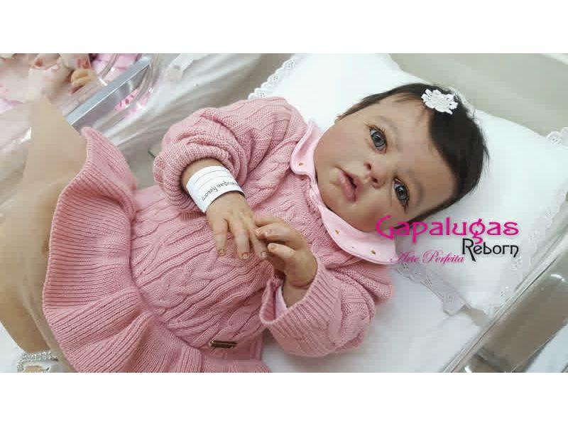 Bebê Reborn Kit Noah Asleep- Seu nome Francis