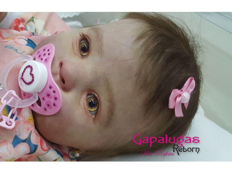 Bebê Reborn Kit Holly - Seu nome é Clarinha