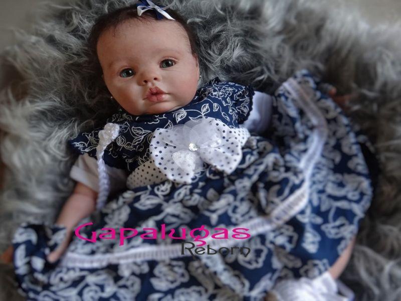 Bebê Reborn Kit Chanel - seu nome Chanel
