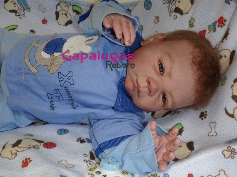Bebê Reborn Kit Paisley - Seu nome João Vitor