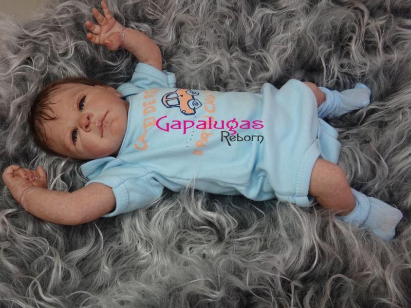 Bebê Reborn Kit Tayla - Seu nome é Léo